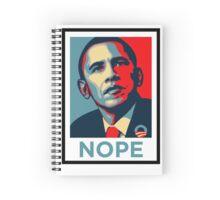 Barrack Obama - Nope Spiral Notebook