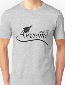 Awesome Since 1973 Unisex T-Shirt