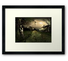Side Road Motel Framed Print