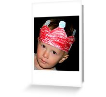 little king Greeting Card