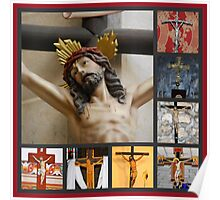 Crucifixes of the Holy Land Poster