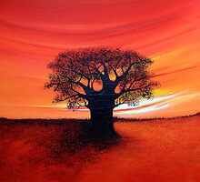 Baobab Tree by Shirley Shelton