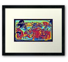 Fire Rider... Framed Print