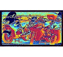 Fire Rider... Photographic Print
