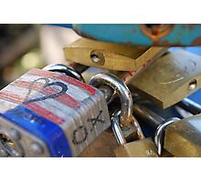 Love Locked - Prague Photographic Print