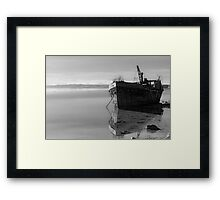 The Final Voyage, The Portlairge, Saltmills, County Wexford, Ireland Framed Print
