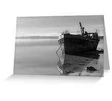 The Final Voyage, The Portlairge, Saltmills, County Wexford, Ireland Greeting Card