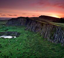 Walltown Crags by Doug Dawson
