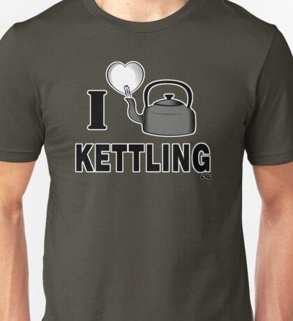 I LOVE KETTLING Unisex T-Shirt