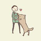 Man & Dog by Sophie Corrigan