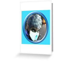 Mortal Kombat Jack Frost Icy Sub-Zero Mask ice Other Greeting Card