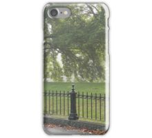 Fence and Trees iPhone Case/Skin