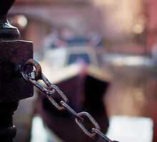chain and canal bokeh! by Michelle McMahon