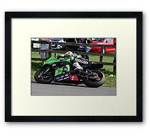Racing at Oliver's Mount #1 Framed Print