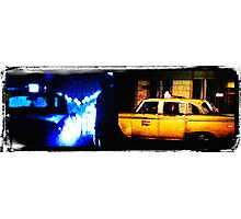 Taxi driver tribute Photographic Print
