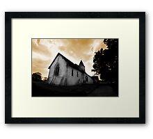 St Mary's Church Silchester Framed Print
