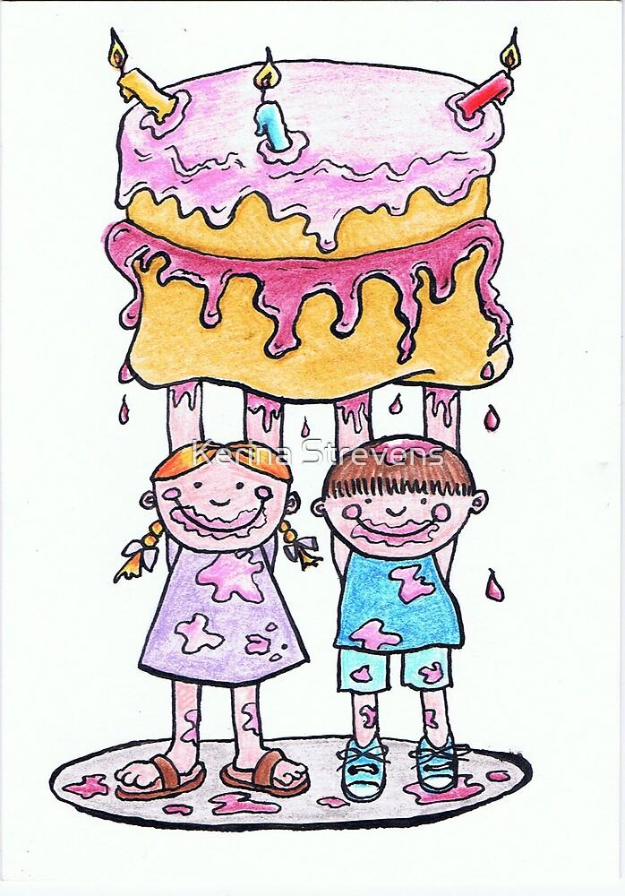 Cake for Mum by Kerina Strevens