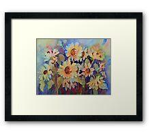 Sunshine Disciples Framed Print