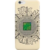 the maze of the maze runner iPhone Case/Skin
