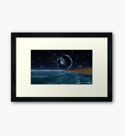 Strange Sightings - The Sphere Framed Print