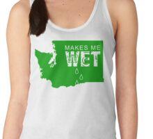 Washington Makes Me Wet Women's Tank Top