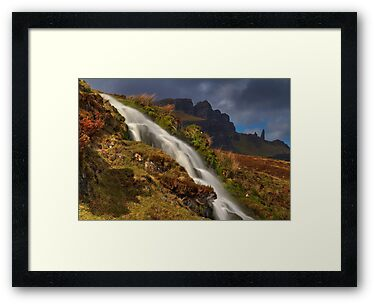 Storr Waterfall by Karl Williams