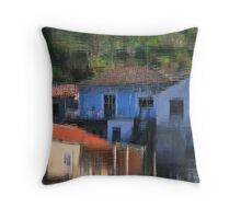 Impressionist Reflection Throw Pillow
