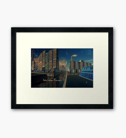Antric Gabom - Universe 6 Framed Print