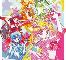 Sailor Moon Dots by neocrystaltokyo