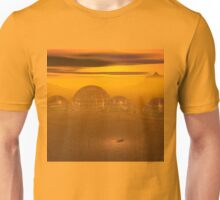 Domed city on an alien planet Unisex T-Shirt