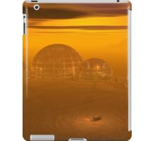 Domed city on an alien planet iPad Case/Skin