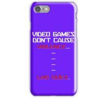 Lag Kills video games iPhone Case/Skin