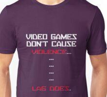 Lag Kills video games Unisex T-Shirt
