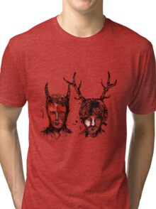 Will and Hannibal Tri-blend T-Shirt