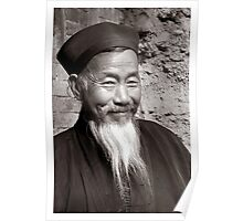 Chinese Monk Subject: Fine art, people, China Poster