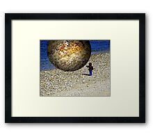 Subjective Reality Framed Print