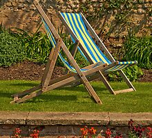 Deck chairs for two by moor2sea