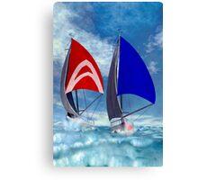 Racing Home Canvas Print