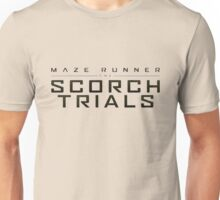 the maze runner logo movie Unisex T-Shirt
