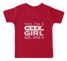 Geek Girl Kids Tee