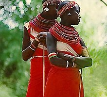 Samburu Girls, Kenya by heatherfriedman