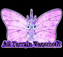 ALL TERRAIN VENOMOTH by myfluffy