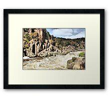 Cataract Gorge 2 Launceston Framed Print