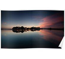 Reflections on Hatchet Pond Poster