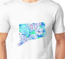 Lilly States - Connecticut Unisex T-Shirt