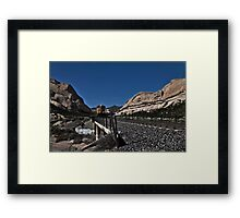 """"""" Crossing the San Andreas """" Framed Print"""