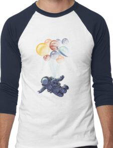 Space Travel Men's Baseball ¾ T-Shirt