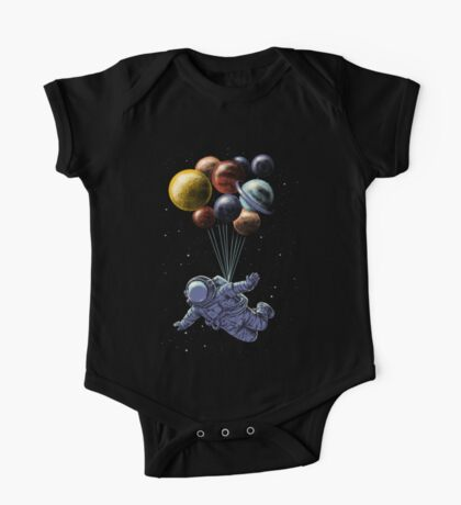 Space Travel One Piece - Short Sleeve