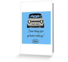 Ford Escort MK1 T-Shirt Greeting Card