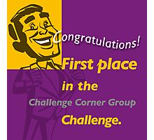 First Place CCG banner Photographic Print